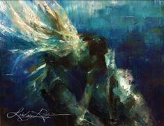 Underwater Kiss by LindsayRapp.deviantart.com  --- fb like and support her art here>>>  https://www.facebook.com/pages/Lindsay-Rapp-Art/249472168615  :)