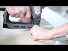 How-To: Upholstered Window Cornice - YouTube