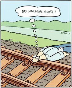 Cartoon 2010: 05 - Martin Perscheid: Abnehmen mit dem Mond   Sondermann-Preis- Frankfurter Rundschau