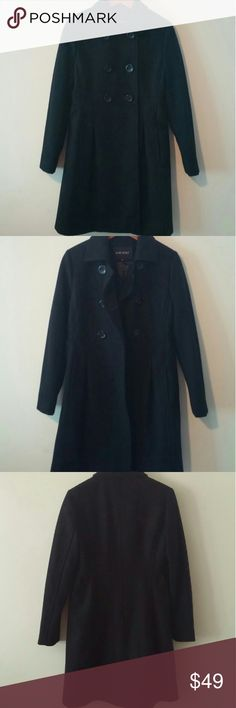 New 2 pea coat New without tag condition. Size 2. Nine west. Lined. Nine West Jackets & Coats Pea Coats
