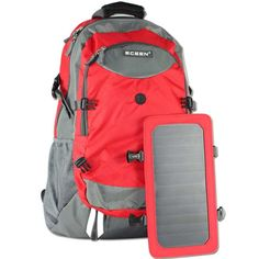 http://usefulgadgetsforyou.com/solar-charger-backpack/ Solar Charger Backpack
