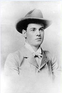 Herbert Hoover, aged 23; taken in Perth, Western Australia in 1898