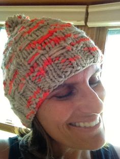2f9d56714c5 Susan B. Anderson s Woven Ladder Hat for the My Mountain Hat design  contest! Lova