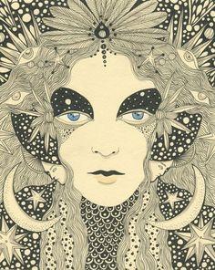 The rather brilliant Daria Hlazatova - http://dariasgallery.blogspot.co.uk/