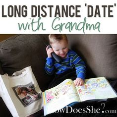 Long Distance 'Date' with Grandma   How Does She...