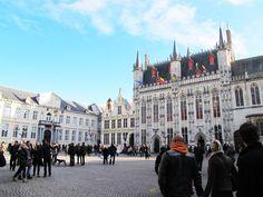 Praca Burg - Bruges - Bélgica