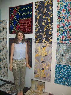 By my stand at New Designers 2013, Business Design Centre, London :) katie leech