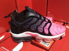 9fed0c076584d0 Wholesale Nike Air VaporMax Plus TN Spectrum Pink Black White Women s  Running Shoes Sneakers