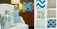 Pillow Covers - 111 Gorgeous Fabric Choices! | Jane