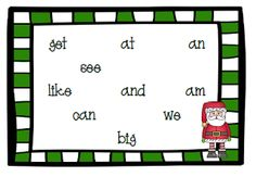 Christmas Fun~ Stations, Printables, and a Sight Word Game