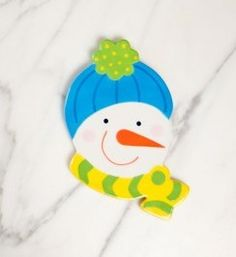Snow Man {Big Attachments} | Coton Colors sold @King Hardware and Gifts