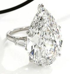 19.86 Carat DIAMOND RING by JewelInfo4u.com, via Flickr