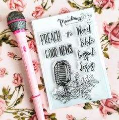 Growing Meadows Stamps for Bible Journaling! Hey, I found this really awesome Etsy listing at https://www.etsy.com/listing/584013435/preach-the-word-mini-stamps-christian