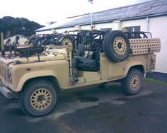 British Army WMIK Landrovers. - Reference Materials - Tools, Techniques, and Reference Materials - Finescale Modeler Community