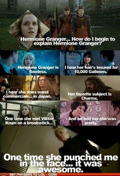 Seriously...I can't stop. Who are these Harry Potter/Mean Girls heroes...