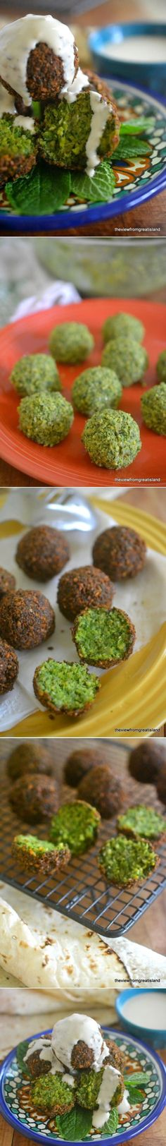 """The best Falafel by """"The view from great island"""" 