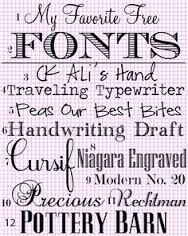 Image result for free printable fonts