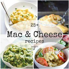 25+ Mac and Cheese Recipes | NoBiggie.net