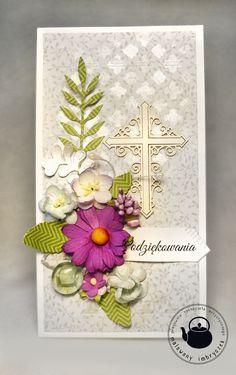 Podziękowanie dla Księdza #thanks, #priest, #teacher, #podziękowanie, #ksiądz, #kartka, #card, #scrapbooking, #handmade, #rękodzieło, #mask, #inkagold, #flower, #malowanyimbryczek First Communion Invitations, Decoupage, Decorative Boxes, Faith, Crosses, Frame, Card Ideas, Cards, Scrapbooking
