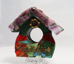 Mosaic Mini House 3D Fairy House Mini by PiecesofhomeMosaics