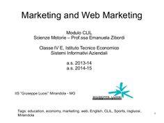Web Marketing - Sport by Emanuela Zibordi via slideshare