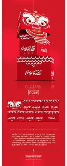 Coca-Cola® 2014 Lion Dance Packaging on Behance