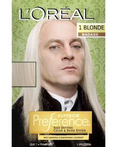 Lucius does L'Oreal