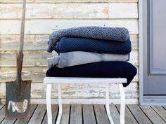 SPRING ~ knit blankets Australia ~ Luna Home