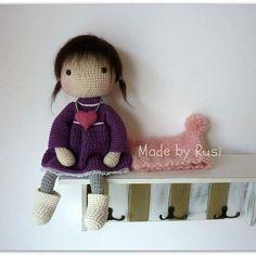 Ava,my new doll❤ Now in my Etsy shop www.etsy.com/shop/RusiDolls #crochet #crochetdoll #amigurumi #amigurumidoll #madebyrusi #rusidolls #etsy
