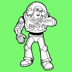 How to Draw Buzz Lightyear from Toy Story 1,2, and 3 with Easy Steps for Kids