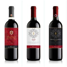 Wine labeling by Hangar Design Group 2013