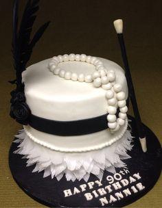 1920's birthday Cake.