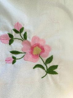 Looking for embroidery project inspiration? Check out Assignment #2 digitized rose by member FairieGodmother. - via @Craftsy