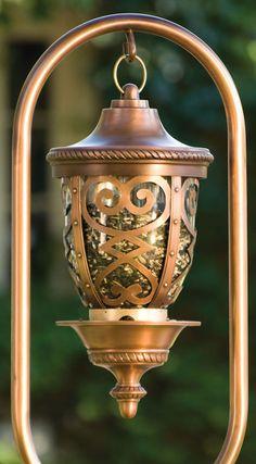 Antique Copper Seville Birdfeeder - JacksonandPerkins.com