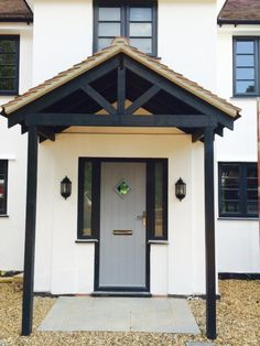 1930's house front of house modernisation - Google Search