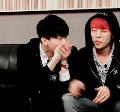 DaeJae's reaction when Jongup tried to speak…