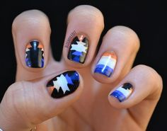 Nailed It: Tribal/Aztec/Native American Nails