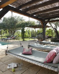 swing bed | farmhouse | spain | by auquer i prats arquitectures