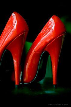 Red shoes  by ~passionphoto, via deviantart.com