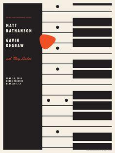 Jason Munn - Matt Nathanson & Gavin DeGraw poster