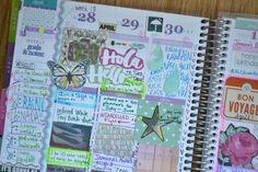 Amnda Rose blog: fun weekly layout! #eclifeplanner