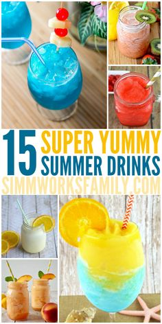 15 Summer Drinks to