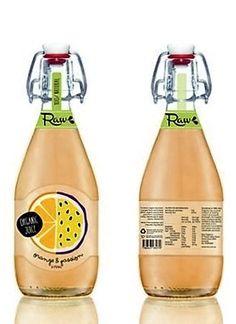 Raw Juice Packaging by Kenya Carroll on Behance