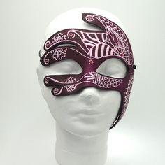 """""""Khamsa"""" Leather Mask"""