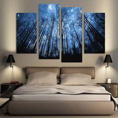 Dream Valley canvas wall art 4 pcs