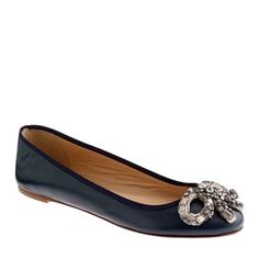 You cute little #jcrew bijoux bow ballet flats. I know just where I would wear you... You would just perfect with skinny white jeans and a baggy grey t-shirt for school drop-offs. That's #myshoestory and I am sticking to it!