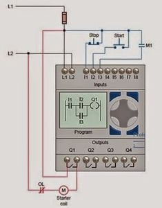 star delta control panel wiring diagram ididit steering column plc pengasutan motor pinterest design electrical engineering world quotes ladder logic electronic technician