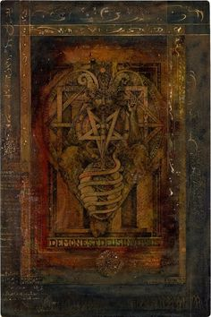 sorornex: From Leigh McCloskey's Grimoire Magick Book, Witchcraft, Wiccan, Shadow Of The Vampire, Theistic Satanism, Occult Art, Mystique, Book Of Shadows, Magazine Art