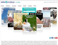 Webs4wedding.com Webs 4 #Weddings is a full-service web-based software provider that offers a complete solution for managing your busi...