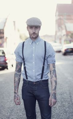 Braces & Flat Caps | Mens Fashion Magazine